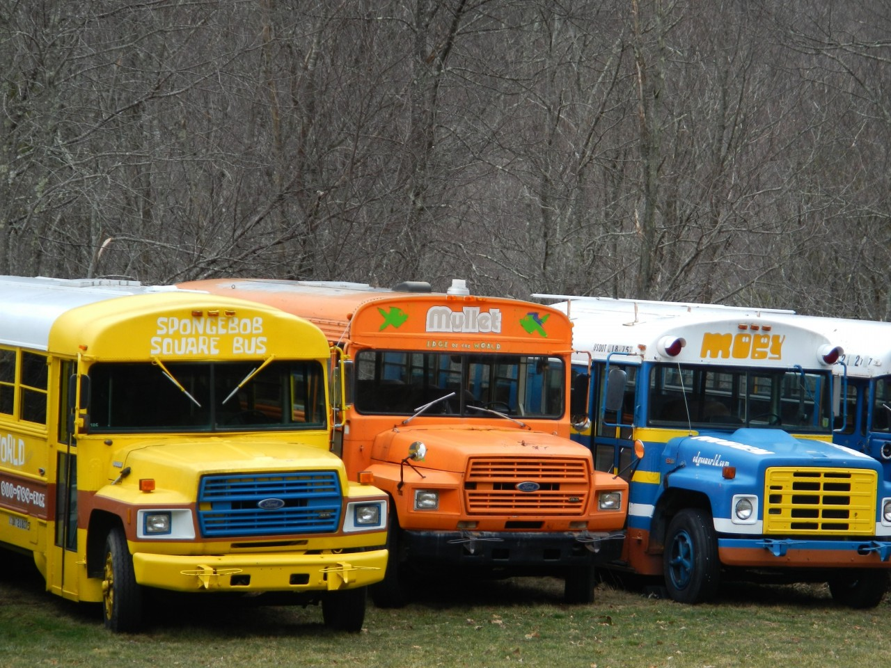 Tricked Out School Busses