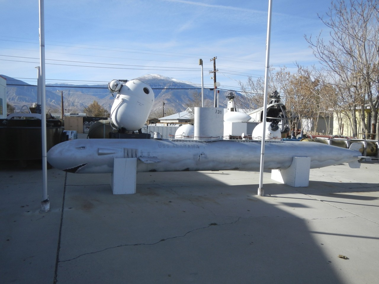 Torpedo outside of Hawthorne Ordinance Museum