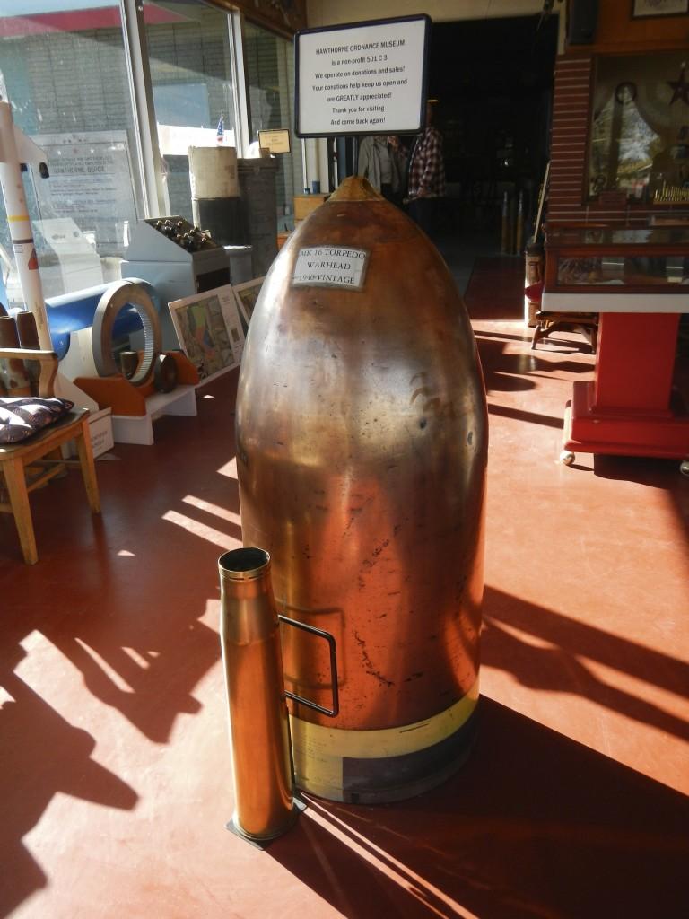 Brass Torpedo Warhead