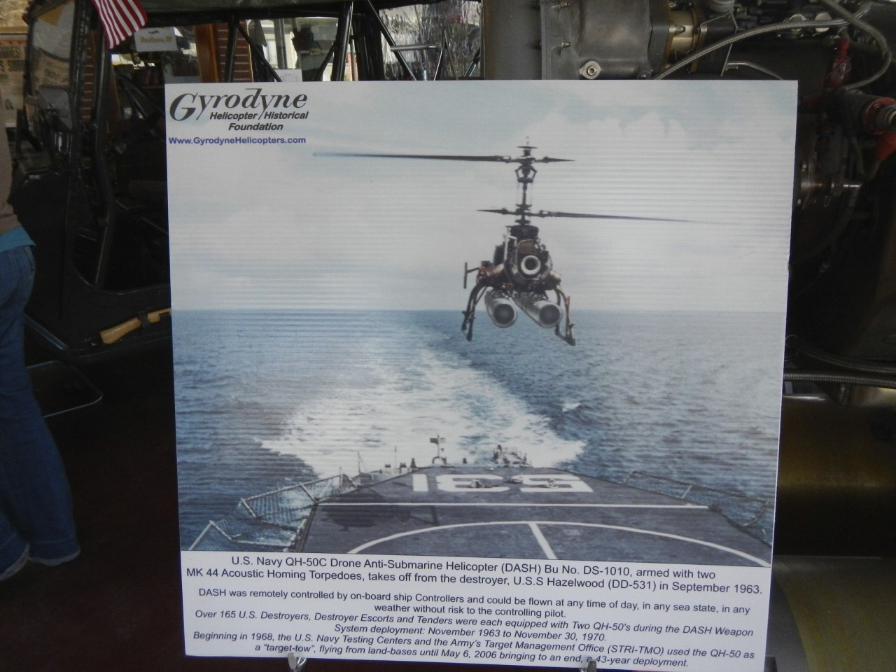 Gyrodyne Helicopter Display