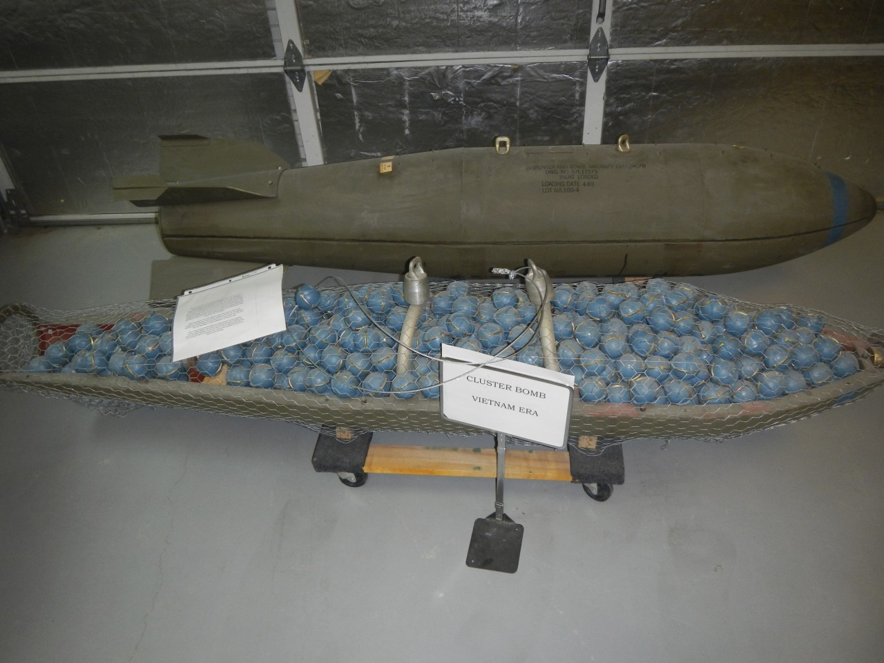 Vietnam Era Cluster Bomb