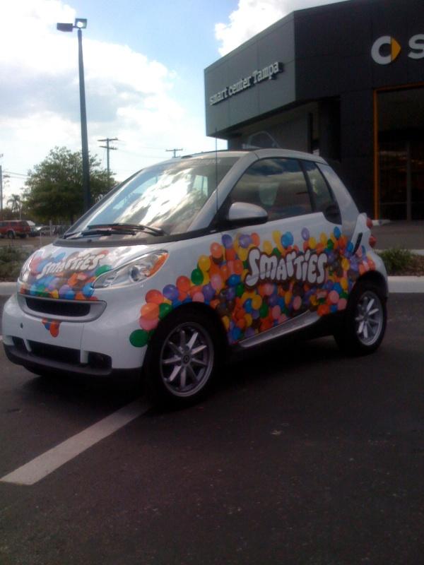 Smarties Smart Car