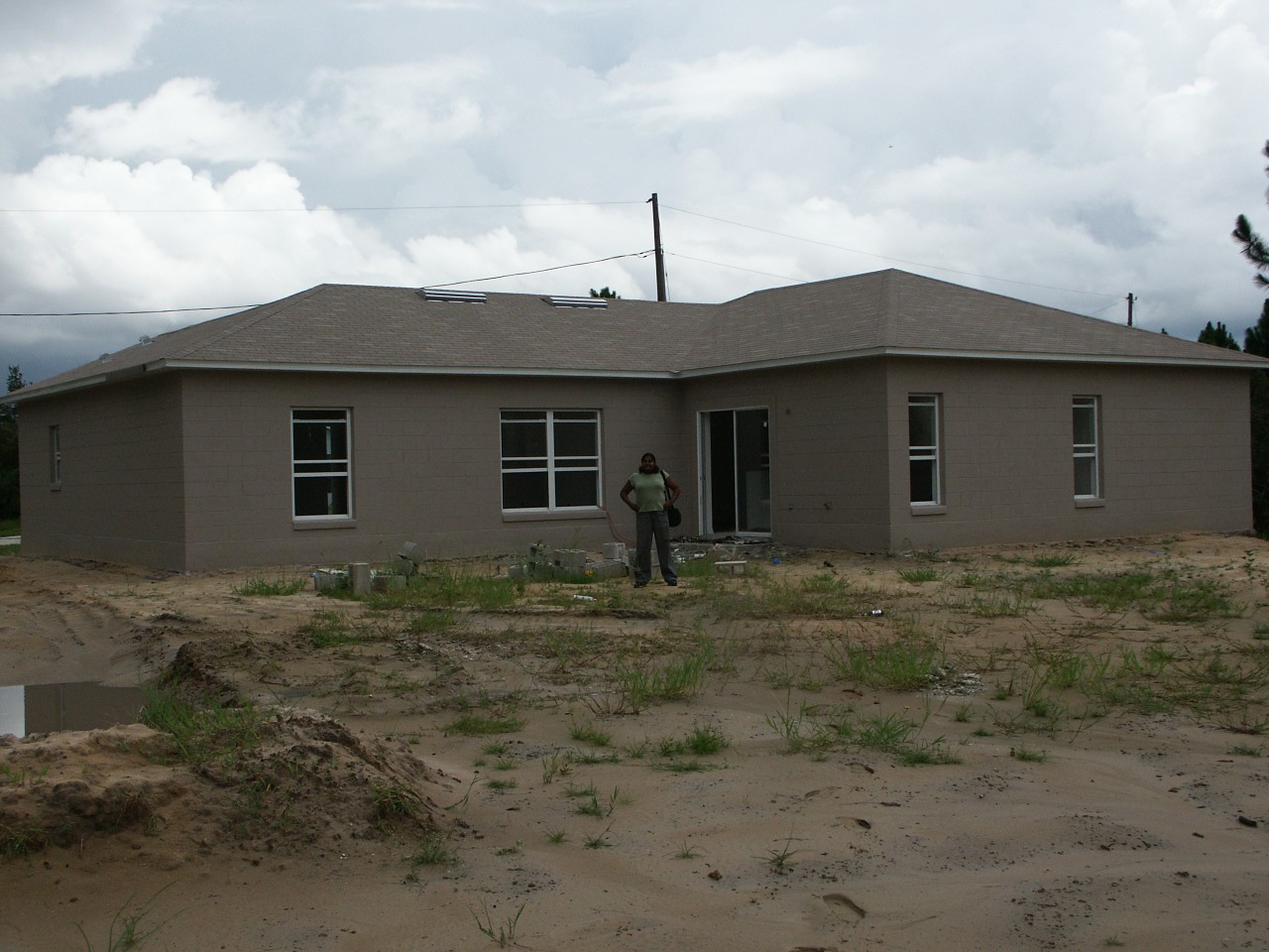 Our very first house