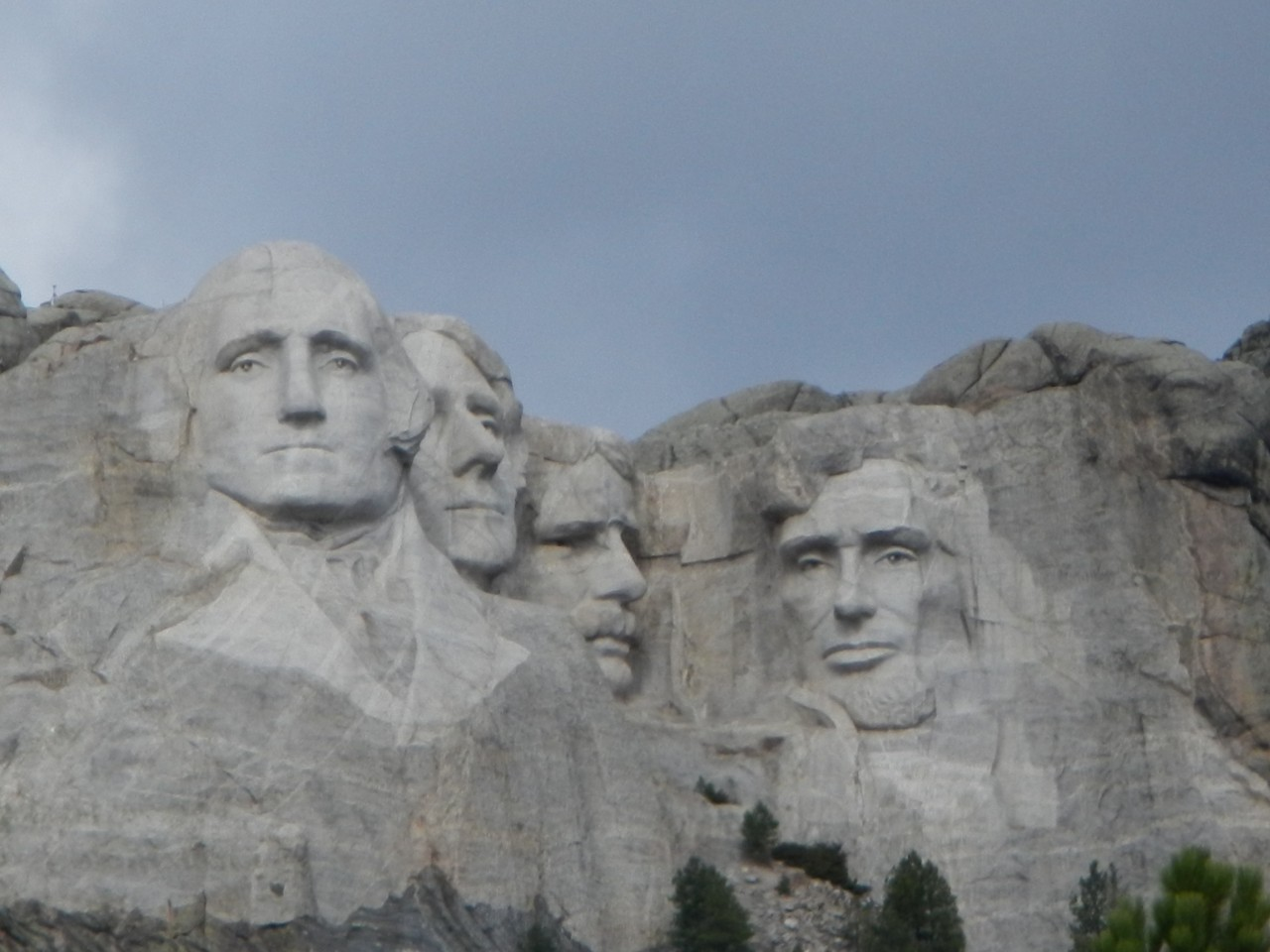 Mount Rushmore in Dakota