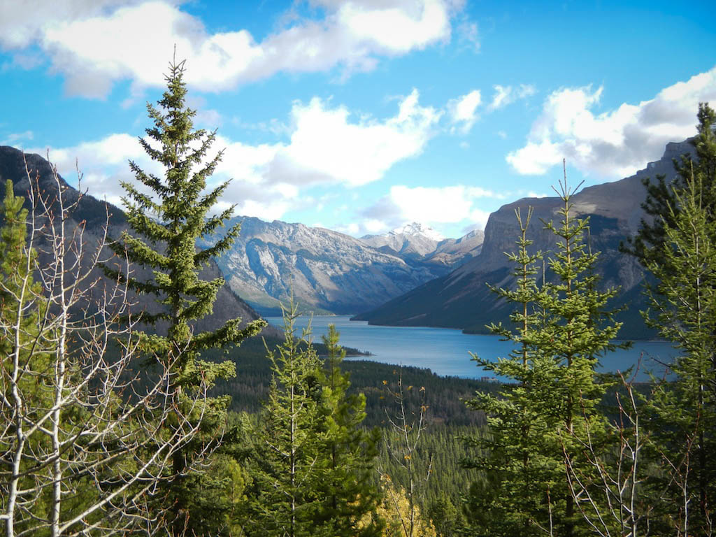 Banff National Park Hiking View