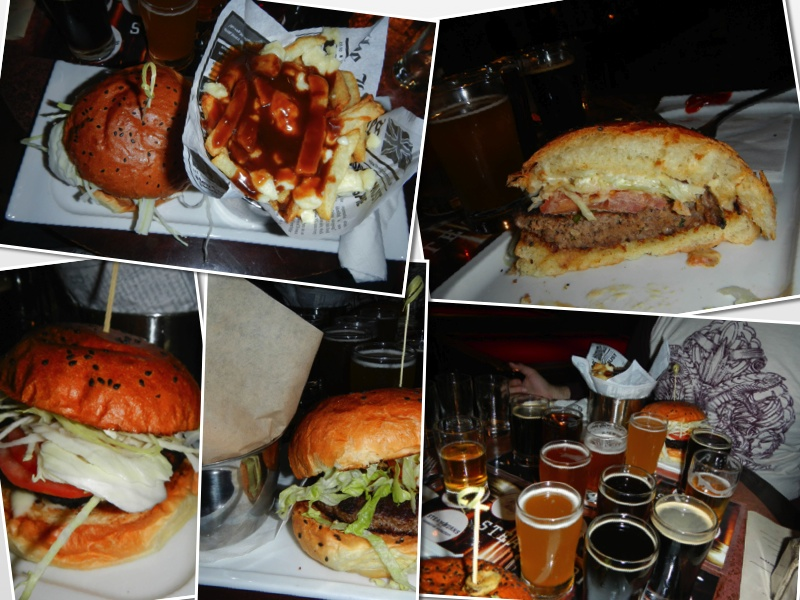 Steamworks Brew Pub Food