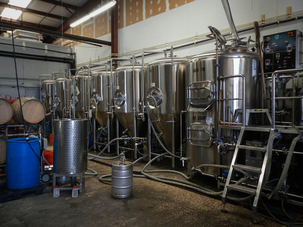 Cigar City Brewing Brewhouse #1