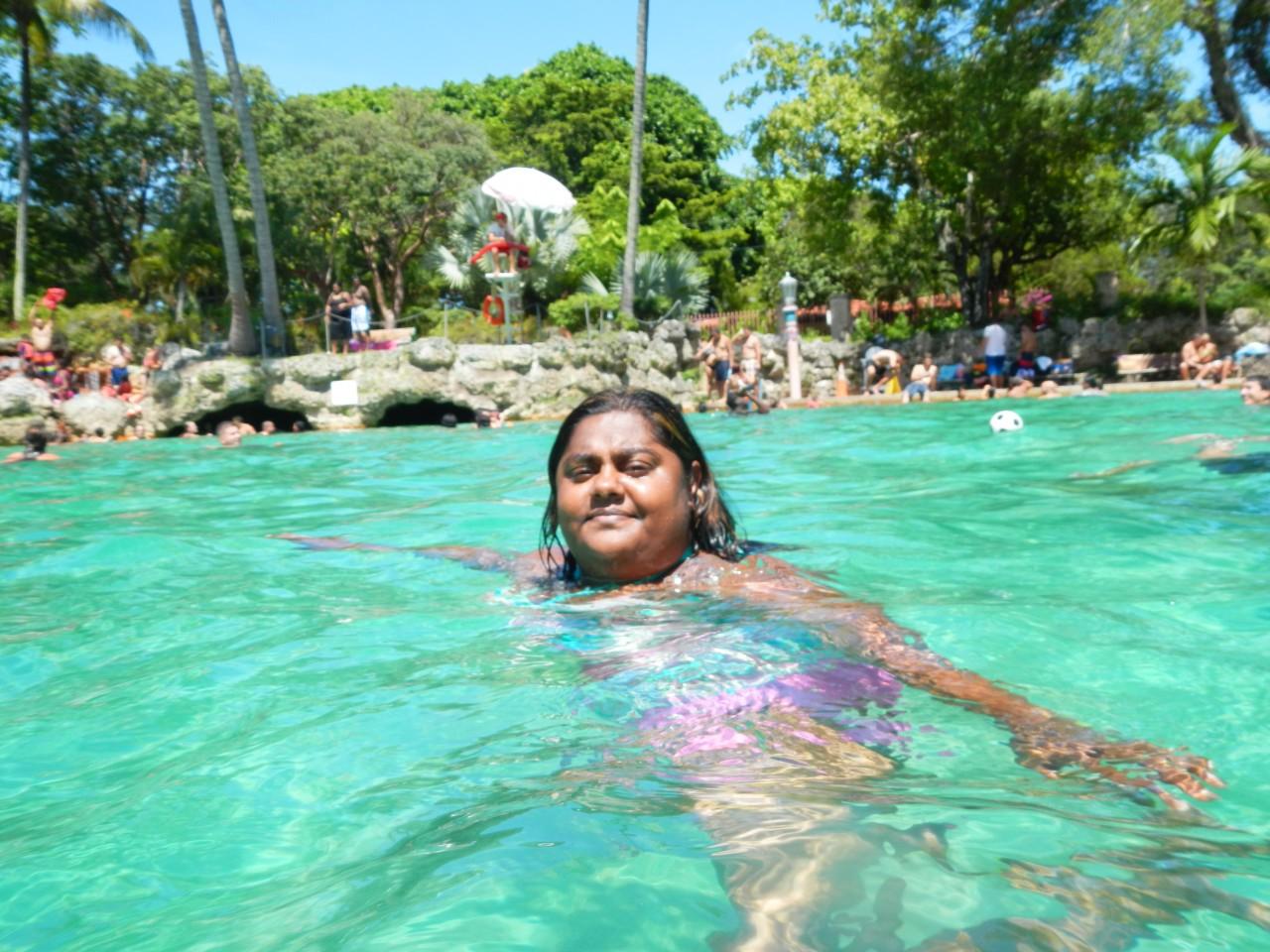 Lauren Bassart at the Venetian Pool