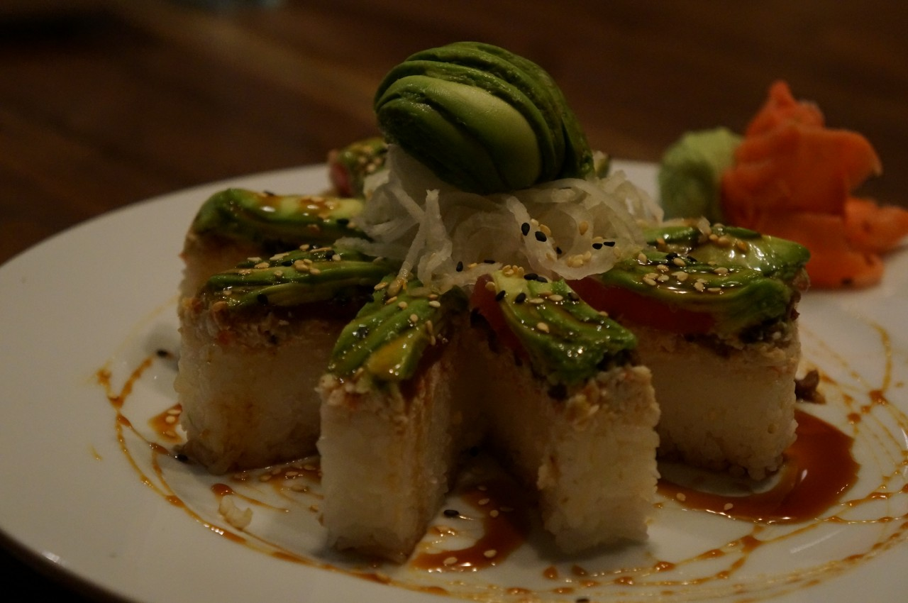 Not your every day sushi roll