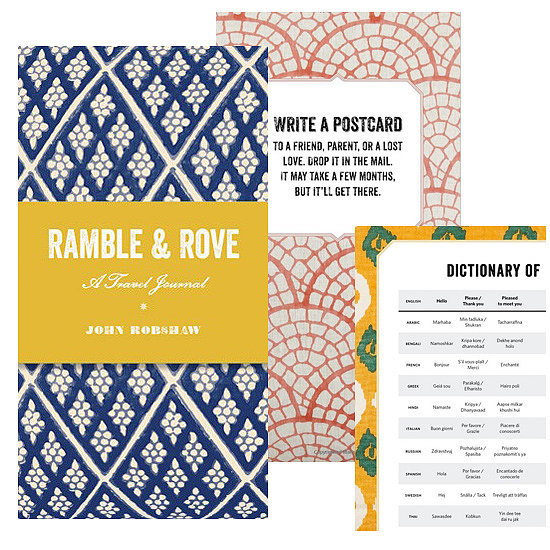 Ramble and Rove Travel Journal