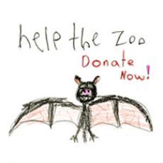 Calgary Zoo Flood Donate Now Button
