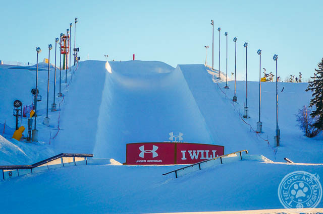 COP Snowboard Half Pipe