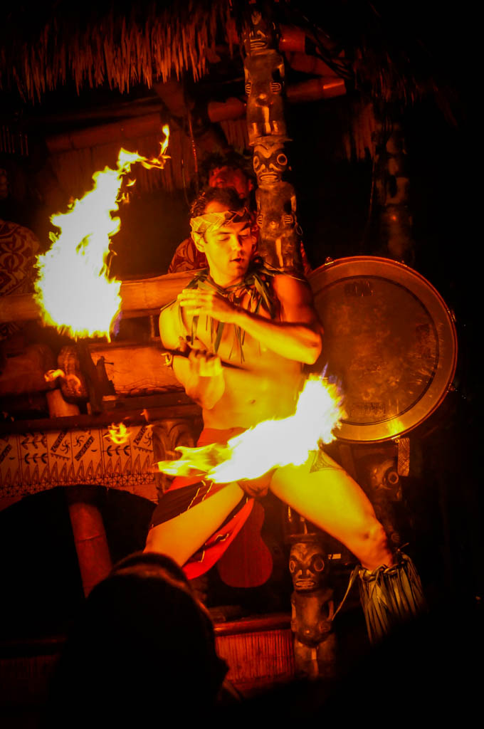 Mai Kai Fire Dancer