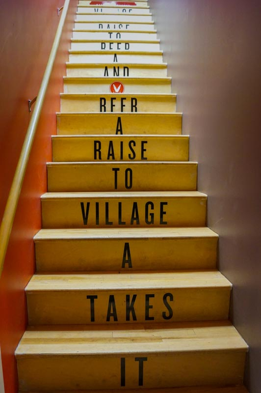 Village Brewery Staircase