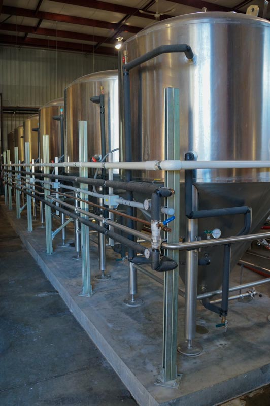 Village Brewery Tanks