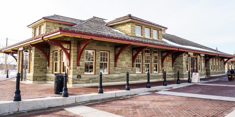 Canadian Pacific Railway Building Replica