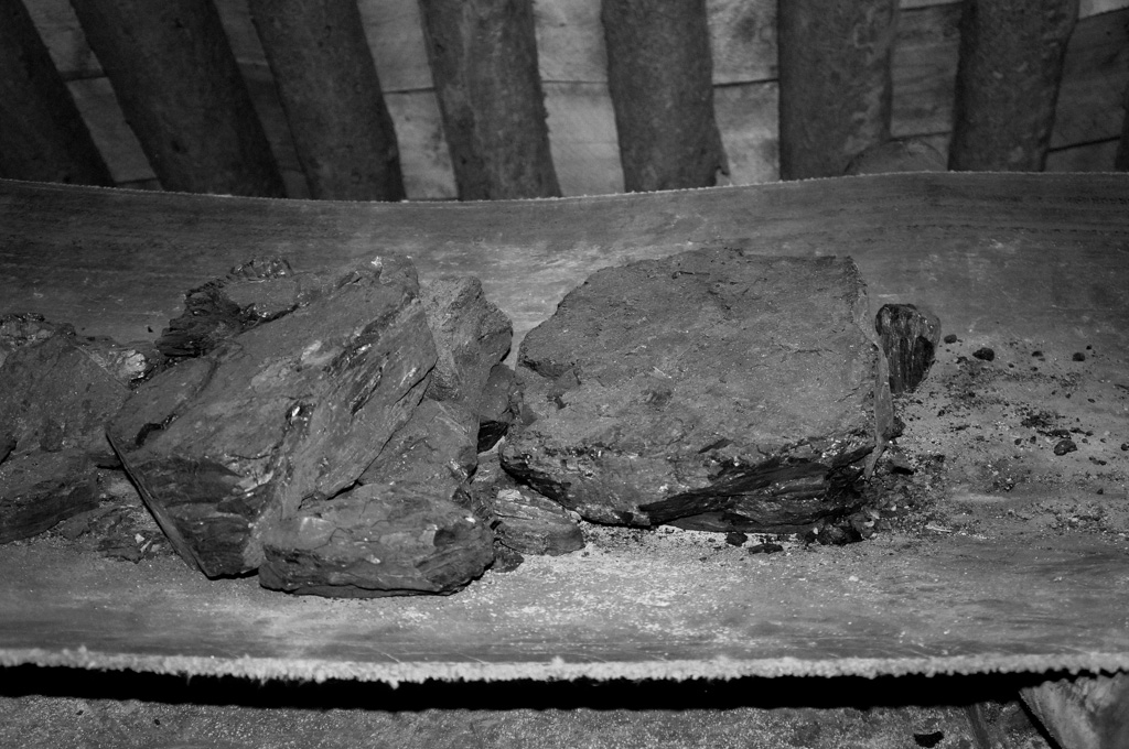 Coal at the Atlas Mine Calgary