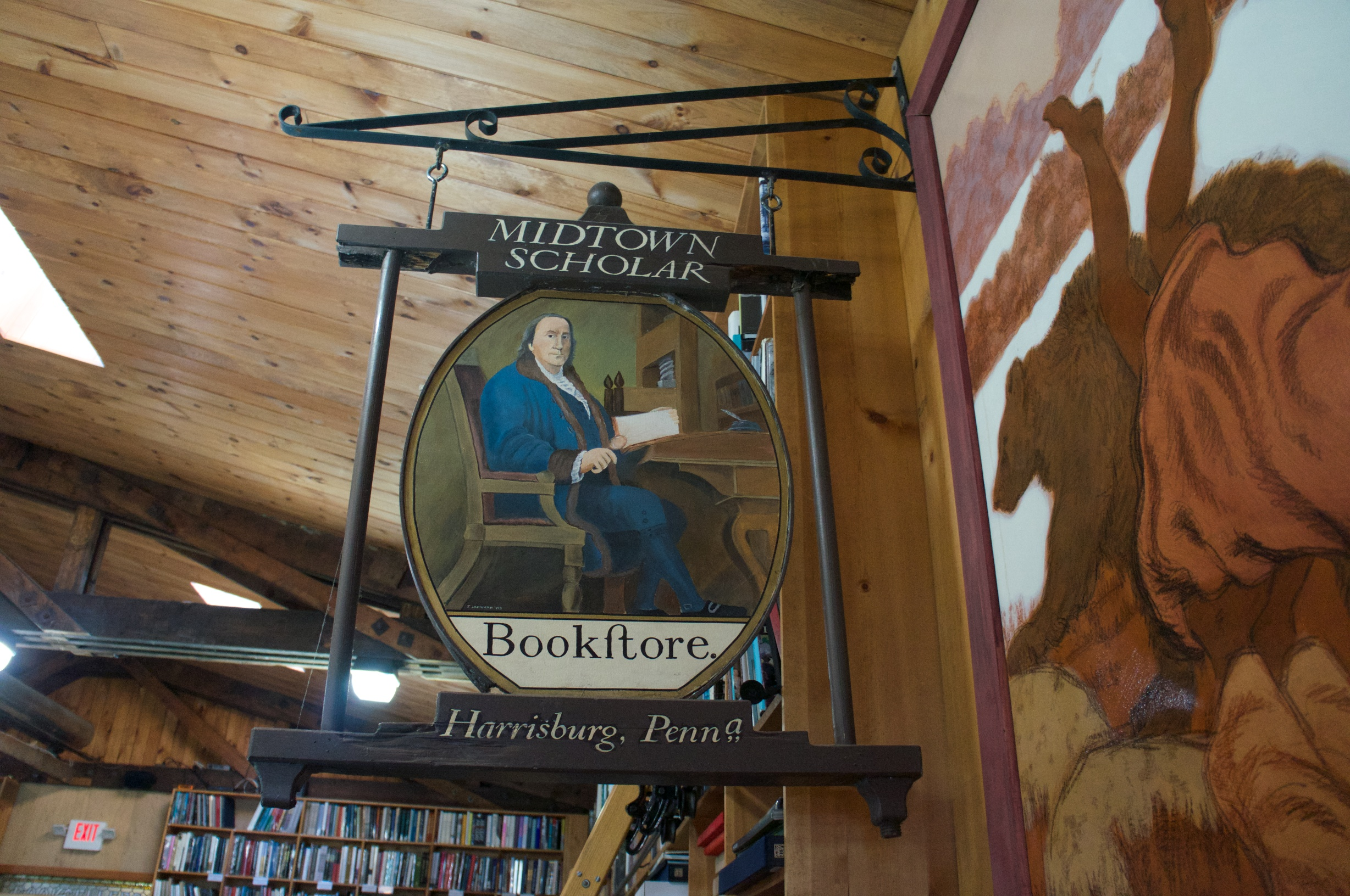 Midtown Scholar Bookstore Sign