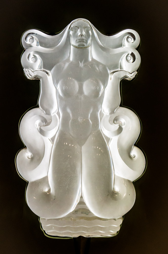 Female Glass Statue