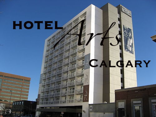 Hotel Arts Calgary exterior