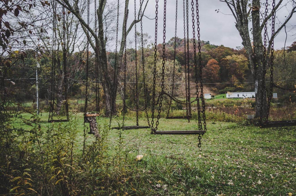 Lake Shawnee Amusement Park Abandoned Haunted on 1950 mid century s