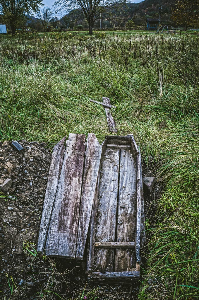Coffin at Lake Shawnee