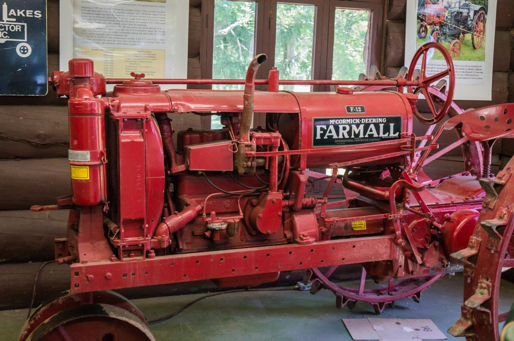 Farmall Tractor at the Ward O'Hara Agricultural Museum