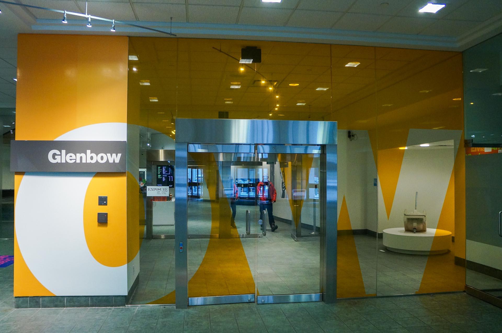 Glenbow Museum Entrance Calgary
