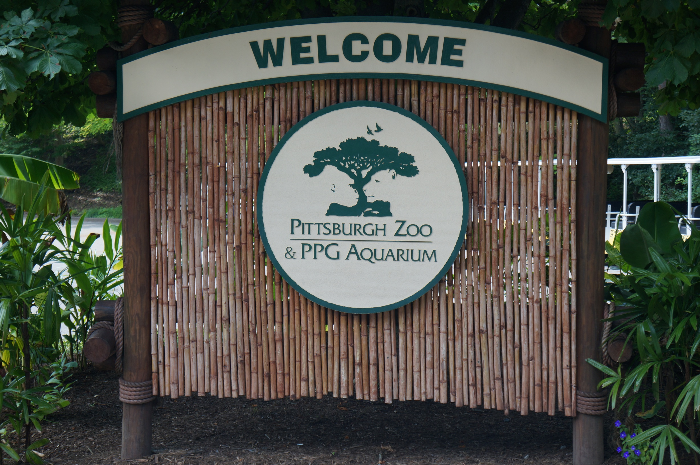 Pittsburgh Zoo sign 1
