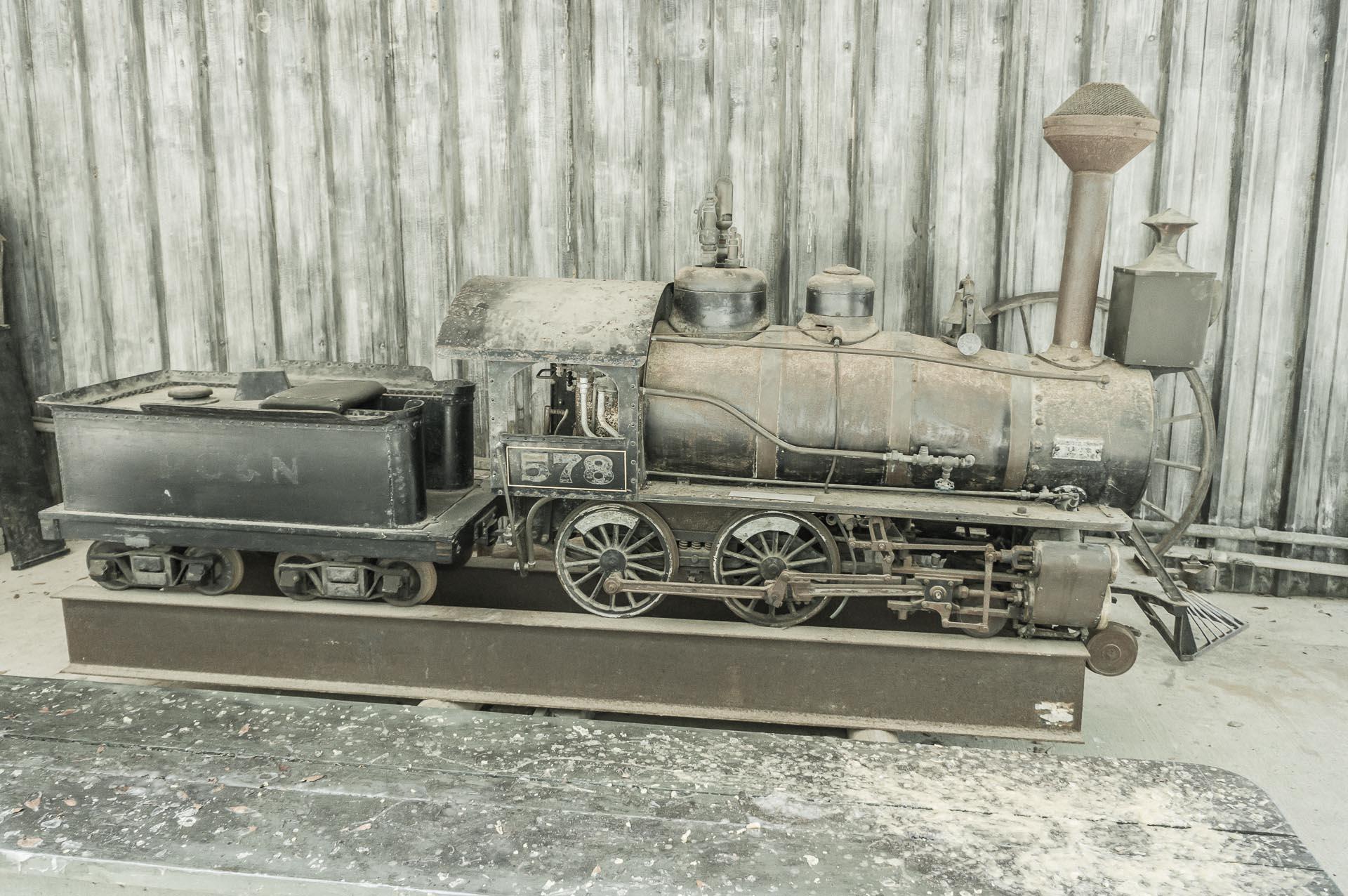 Train at the Rural Life Museum Baton Rouge Louisiana