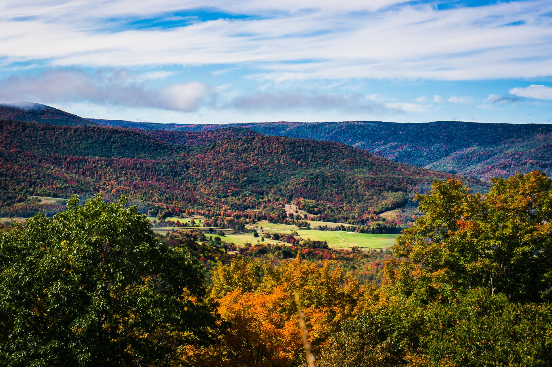 beautiful fall scenic view - photo #23