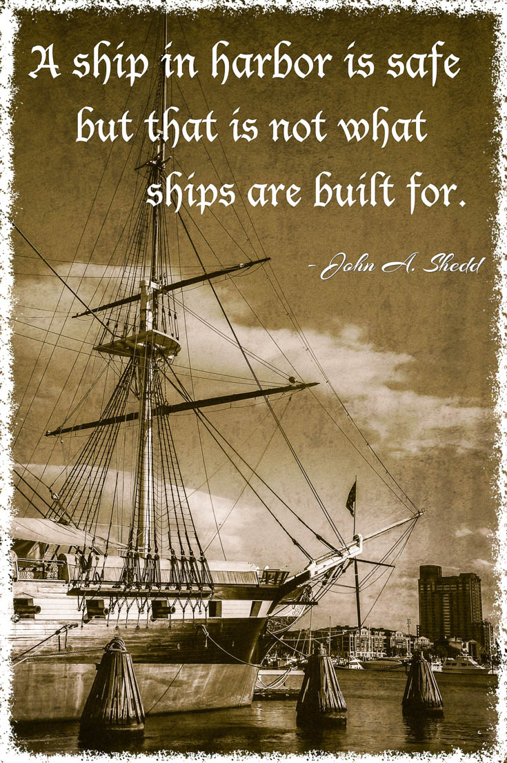 Ship Quotes Quotes About Ships And Harbors Famous Quotes About Harbor