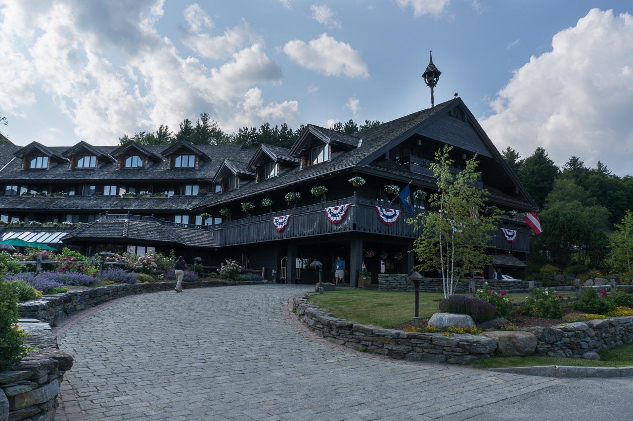 Von Trapp Lodge Stowe VT