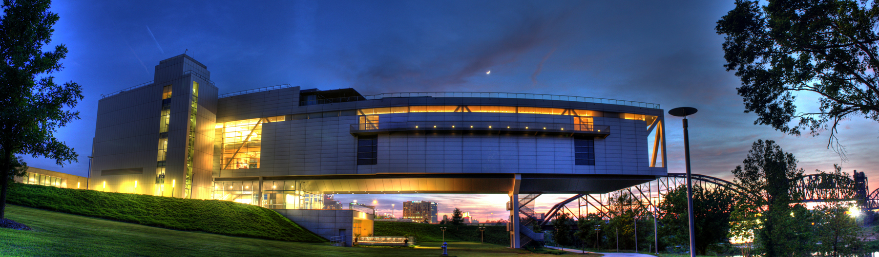 Clinton Library - Little Rock, Arkansas (source)