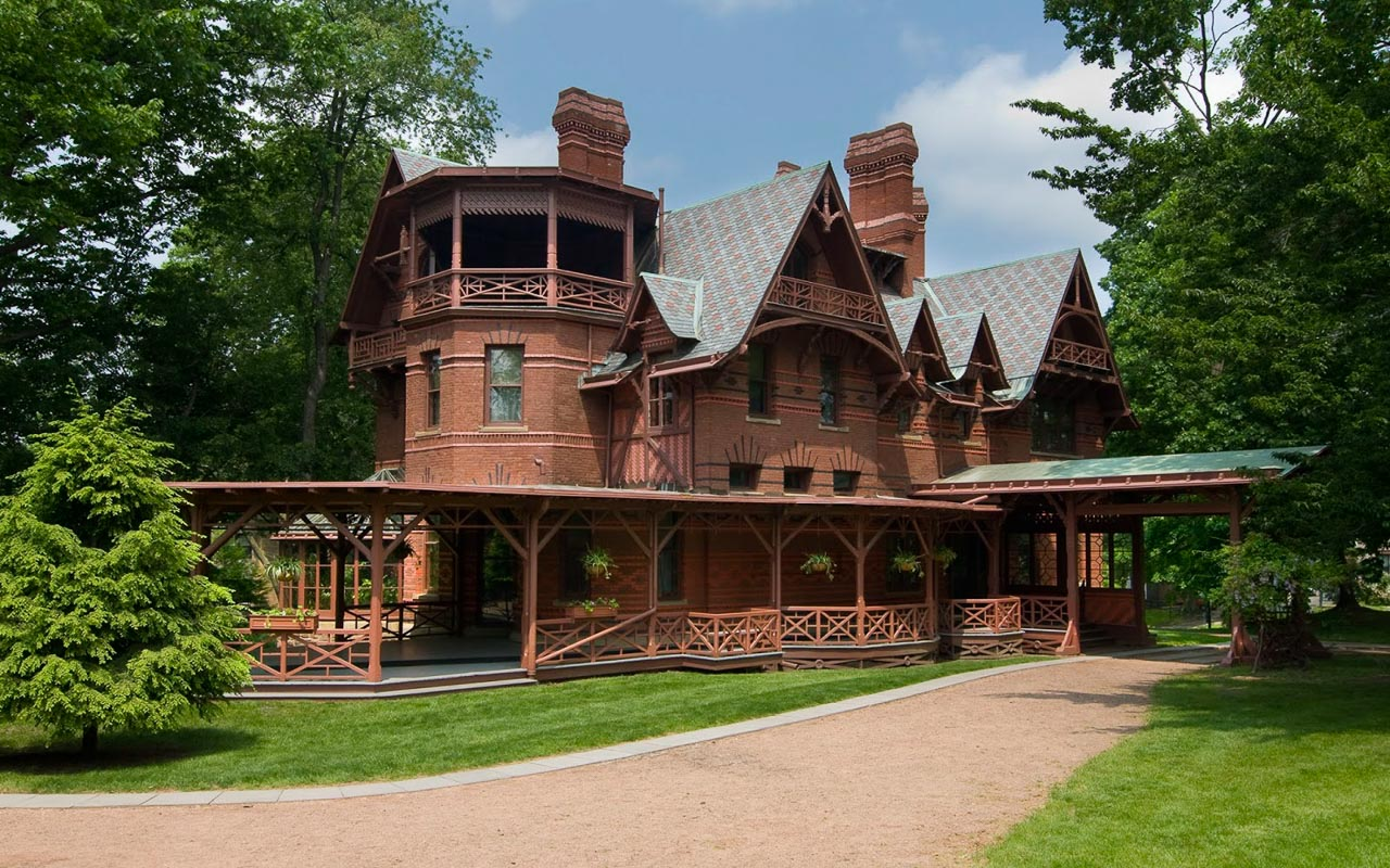 Mark Twain House - Hartford, Connecticut ( source)