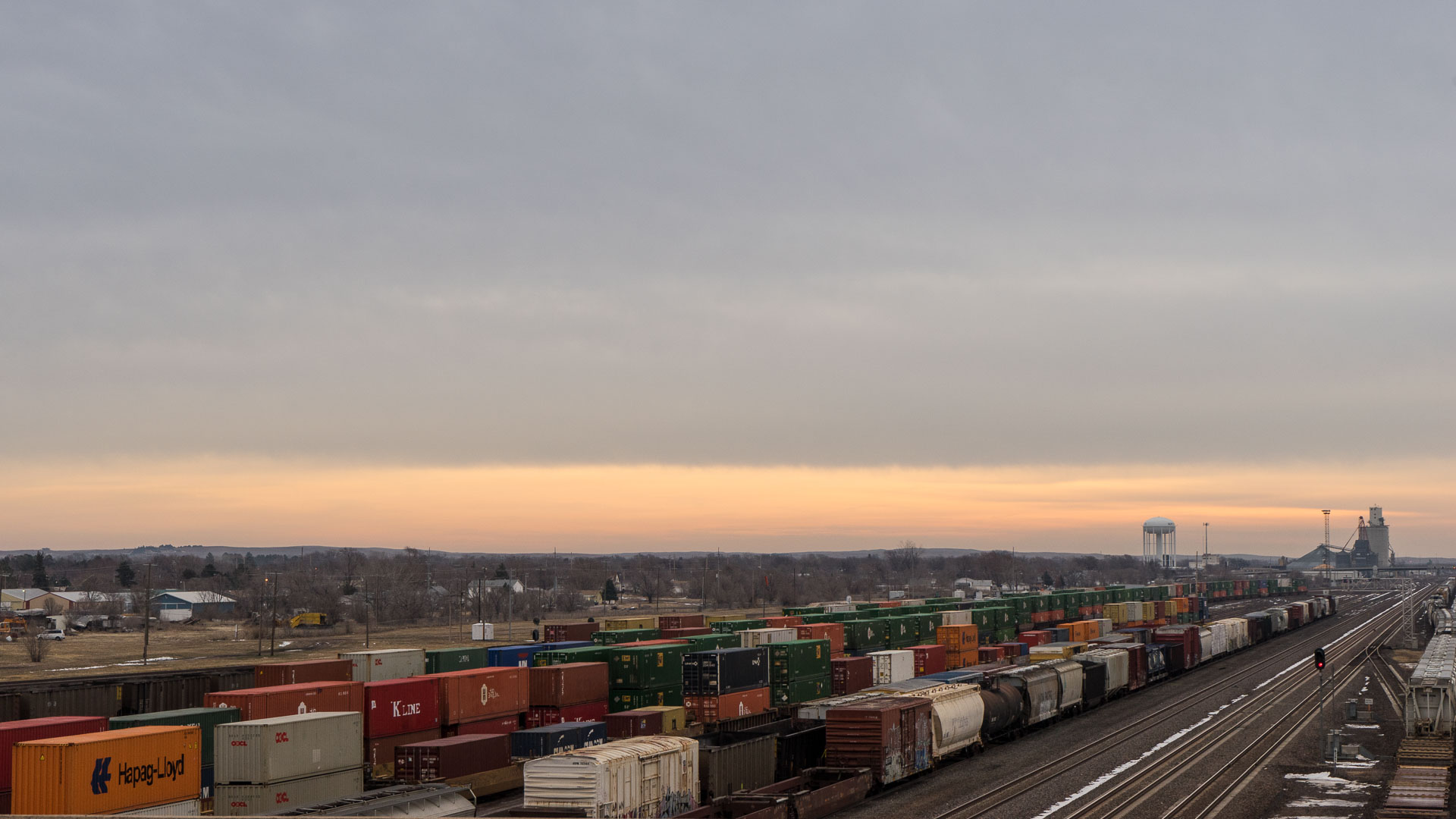 World's Largest Rail Depot - North Platte, Nebraska