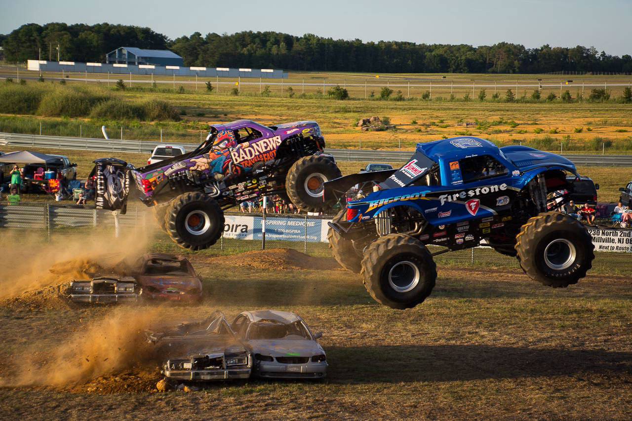 A Monster Truck Rally we attended in Central New Jersey
