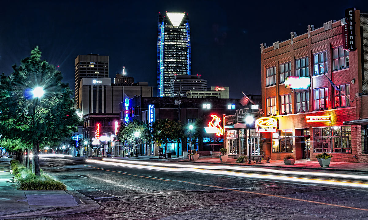 Automobile Alley - Oklahoma City, Oklahoma (source)
